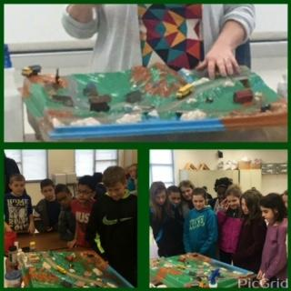 5th Graders Study Landforms and Watersheds