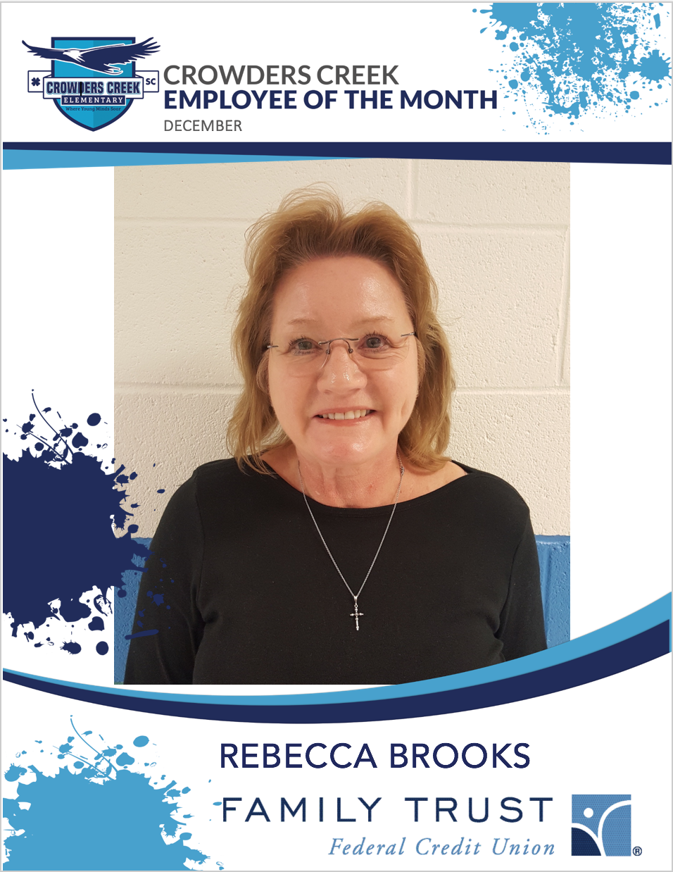 December Staff Member of the Month - Rebecca Brooks