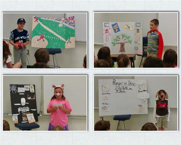 "Ms. Cardino's 3rd Grade Class Present ""Dress Up"" Book Reports"