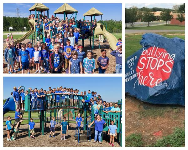 CCE celebrates World Day of Bully Prevention on October 1st by wearing blue and kicks off National Bully Prevention Month by raising awareness to STOMP out bullying!