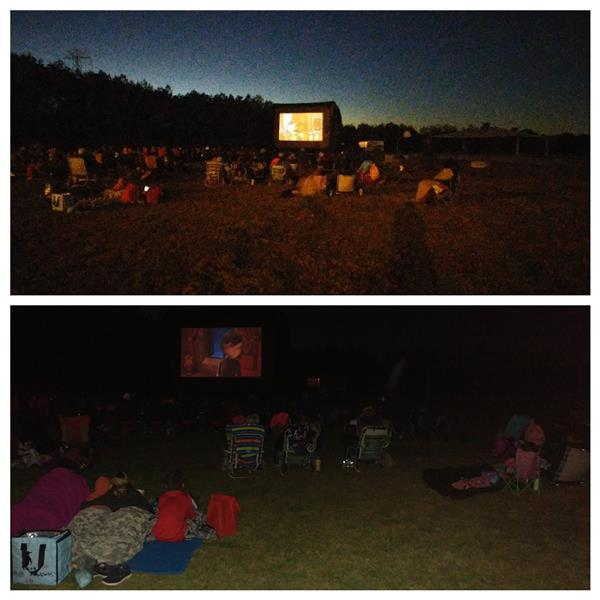 Family Movie Night Was a Blockbuster!!