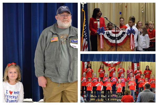 Crowders Creek Elementary Pays Tribute to Our Veterans