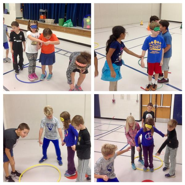 "PE Students Play ""Mission Impossible"" Game."