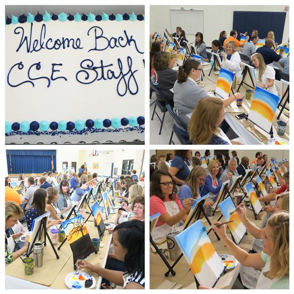 CCE Staff Gets Artistic!!!