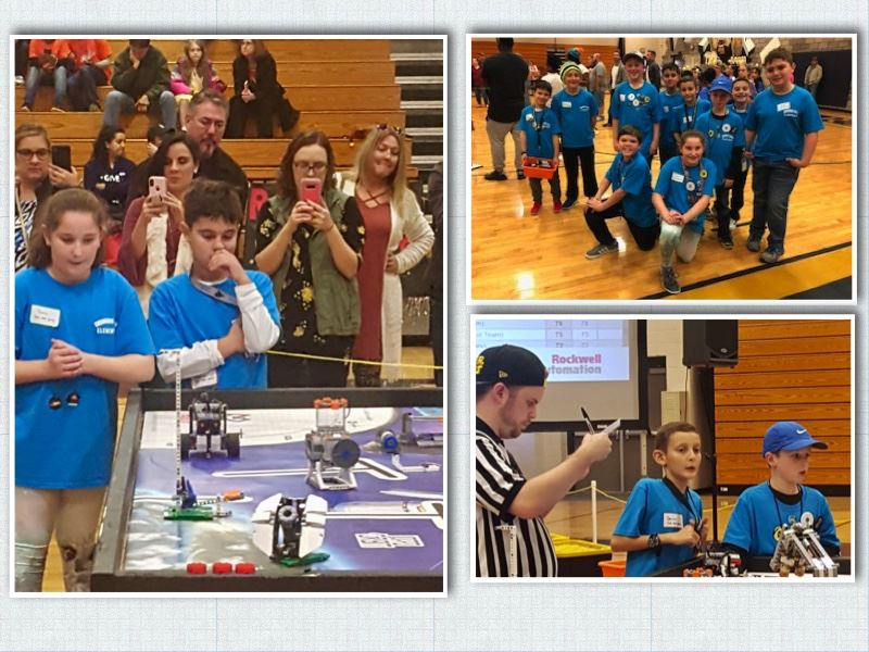 Congratulations to the CCE Robotics Team for Representing Our School so Well.