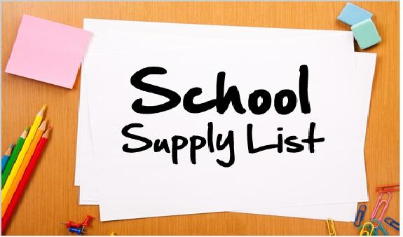 CCE 2018-2019 School Supply Lists