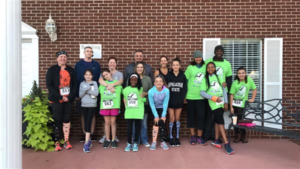 CCE is Very Proud of our Girls on the Run Team