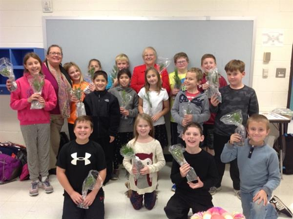 CCE Garden Club Welcomes Visitor