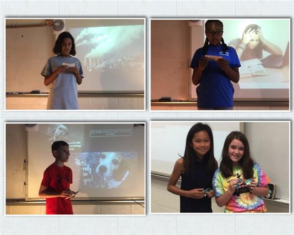 "5th Graders Present ""Shark Tank Projects"""