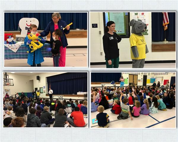 CCE Celebrates Dental Health Month