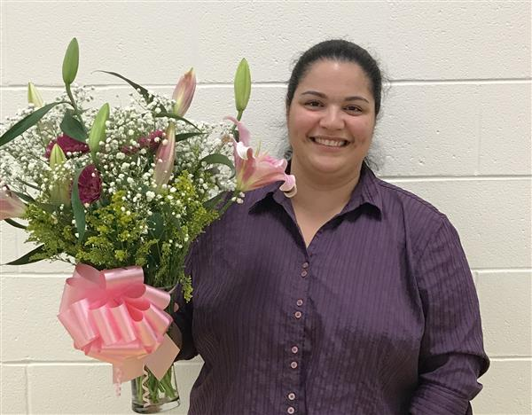Congratulations to the Crowders Creek Teacher of the Year, Ms. Sahalja Dentico
