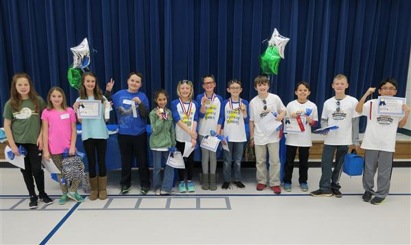 Congratulations to Our Top Three Battle of the Books Teams