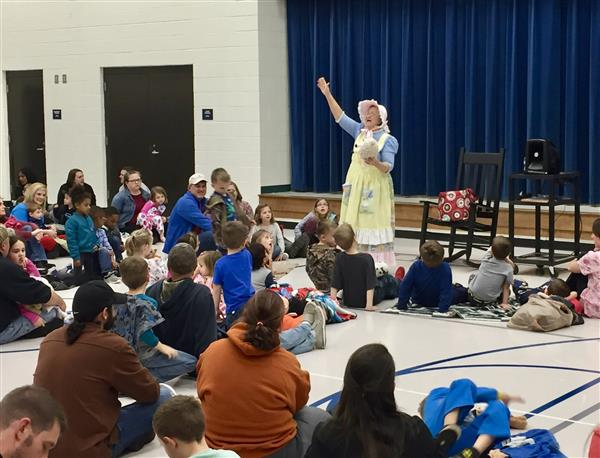 Mother Goose Visits CCE