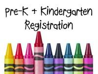 Pre-K & Kindergarten Registration is Feb. 26, 27, and 28