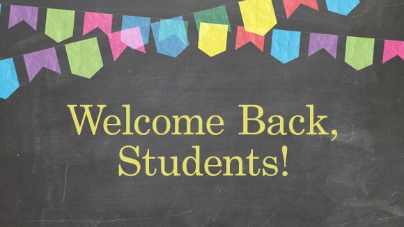 Special Welcome Back video from Mrs. Stine
