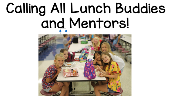 Lunch Buddies & Mentors