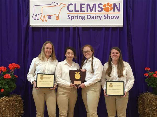 FFA Dairy Judging Competition