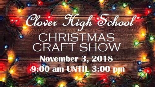Christmas Craft Show Items.Clover High School Christmas Craft Show