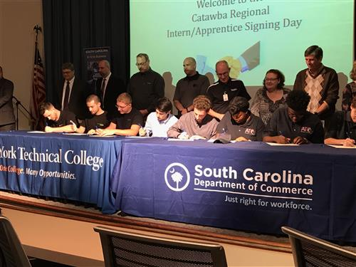 The SC Department of Commerce Hosted the First Annual Recognition/Signing Ceremony