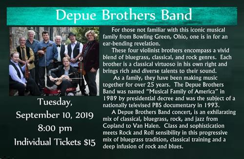 Depue Brothers band