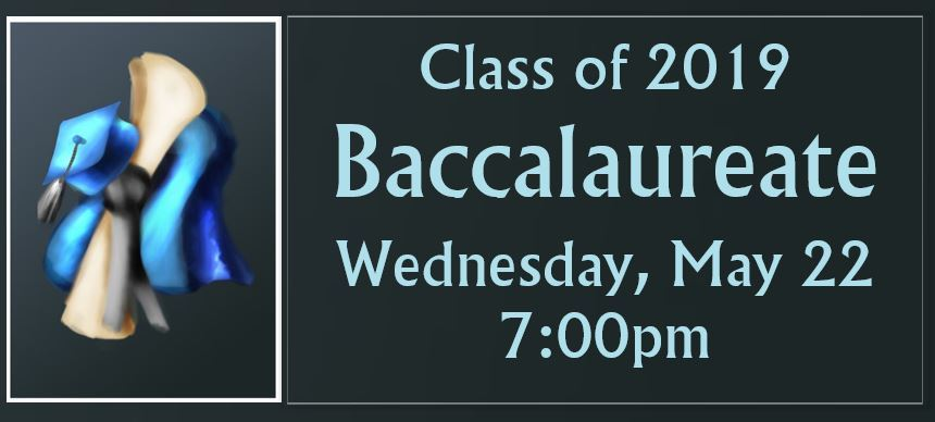 CLASS OF 2019 BACCALAUREATE