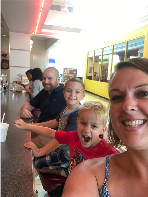 Family Visit to Lego Land