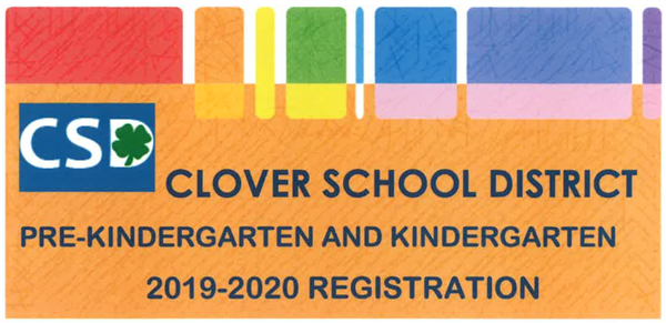2019-2020 Pre-Kindergarten and Kindergarten Registration