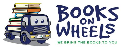Books on Wheels logo