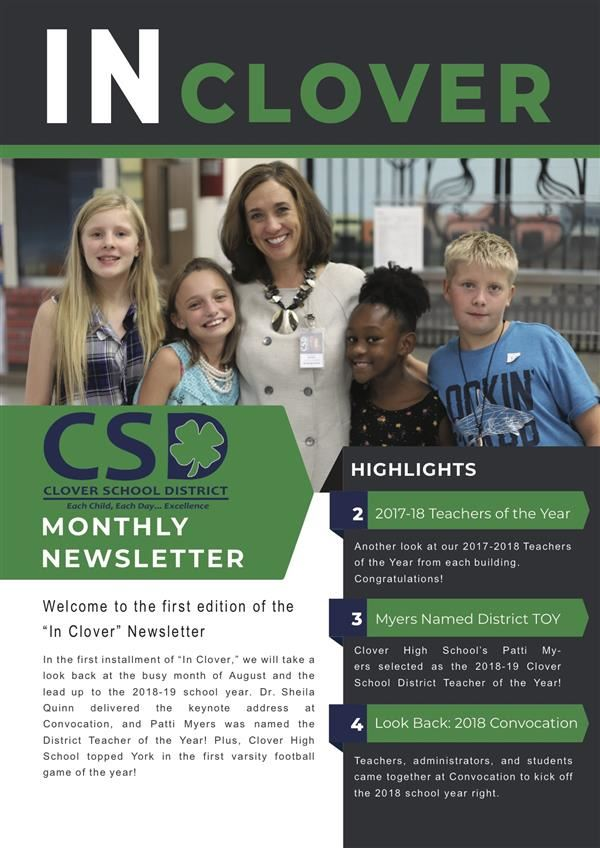In Clover Newsletter