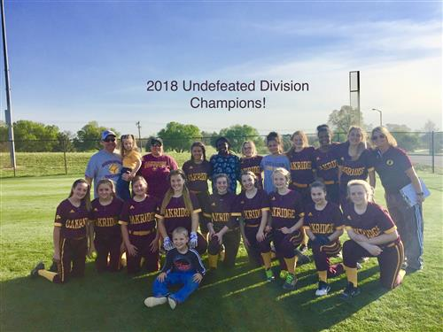 2018 Undefeated Division Champs!