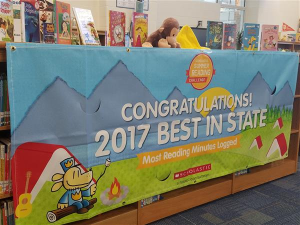 Oakridge Elementary Honored as #1 South Carolina School in the 2017 Scholastic Summer Reading Challenge