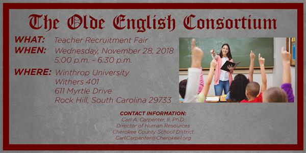 OEC Teacher Recruitment Fair