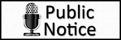 Notice of Public Hearing on Proposed Annual Budget