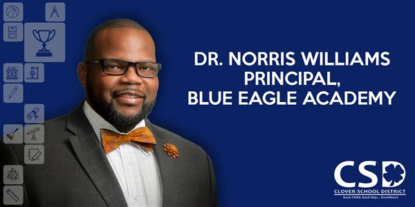 Quinn Announces Hiring of Dr. Norris Williams as Principal of Blue Eagle Academy