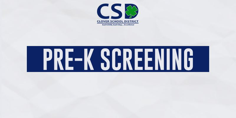 Spring Pre-K Screenings Postponed